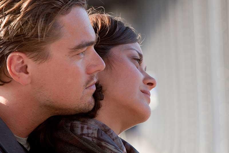 Inception - Leonardo DiCaprio, Marion Cotillard