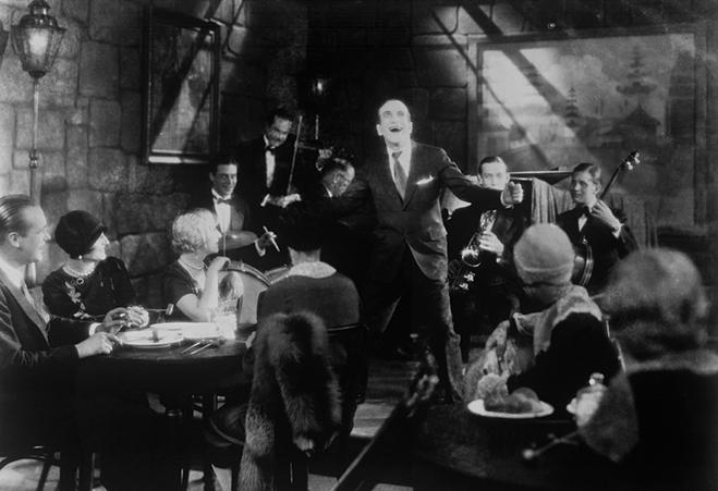 "Al Jolson in ""The Jazz Singer"""
