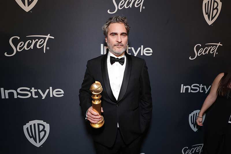 Joaquin Phoenix - Golden Globe 2020 Afterparty