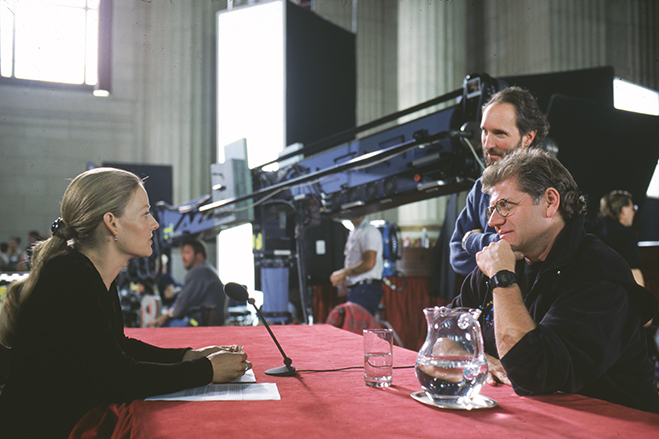 Jodie Foster, director Robert Zemeckis and director of photography Don Burgess discuss Foster's memorable climactic scene as her character testifies before Congress.