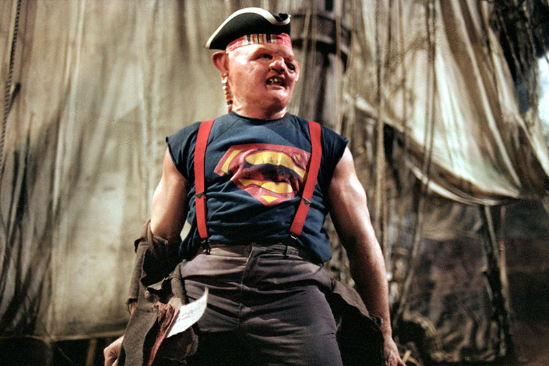 "John Matuszak as Sloth in ""The Goonies."""