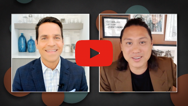 Jon Chu with TCM Host Dave Karger