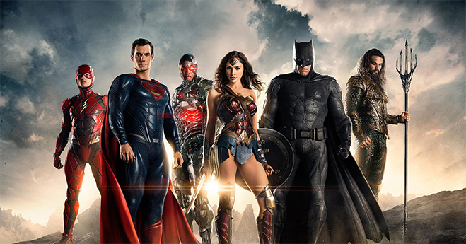 Justice League: Coming to theaters November 17.