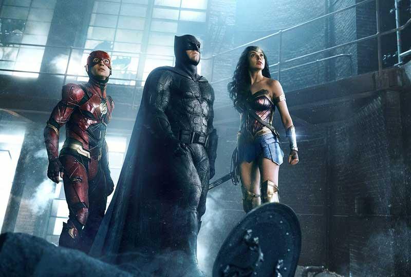 Justice League: The Flash, Batman, Wonder Woman