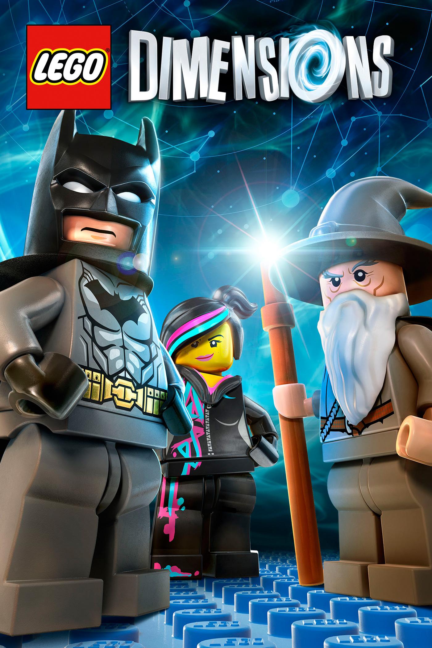 LEGO Dimensions Keyart