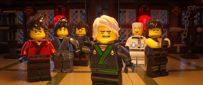 LEGO NINJAGO cast