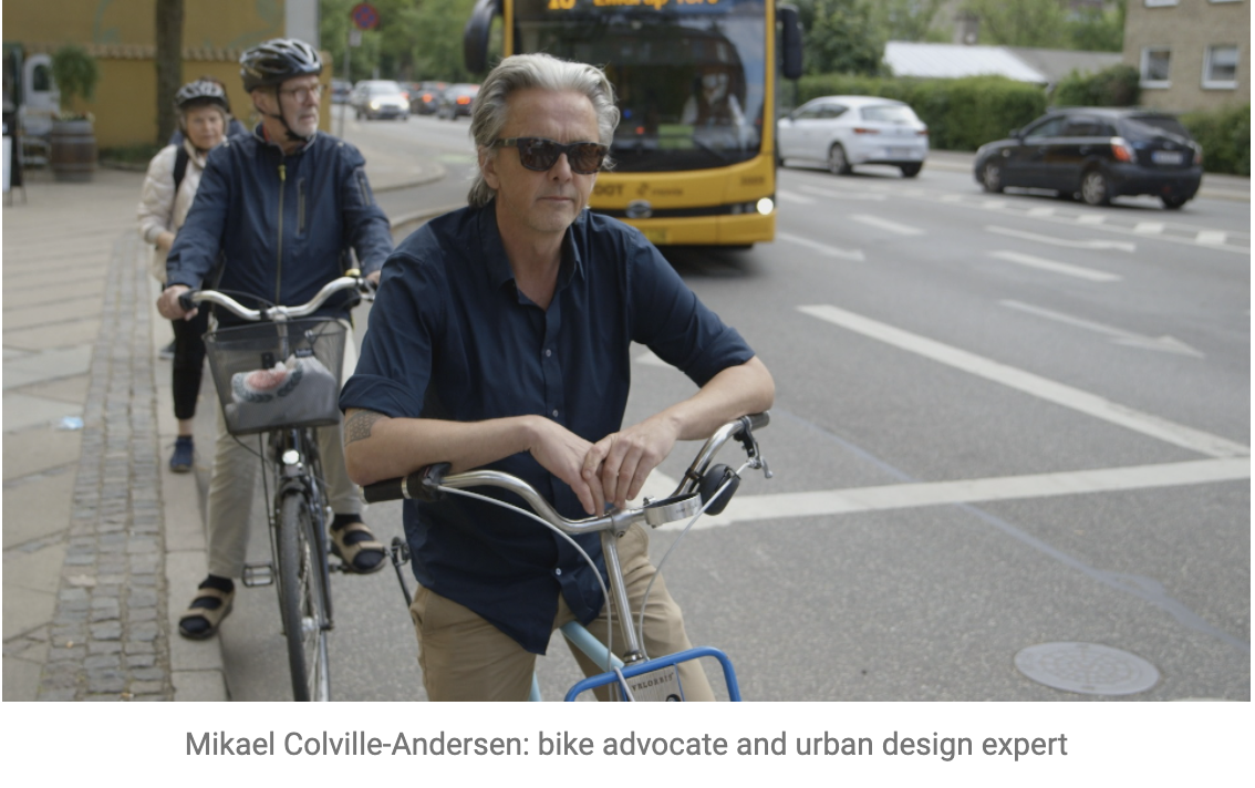 """""""Real Sports"""" - Mikael Colville-Andersen: bike advocate and urban design expert"""