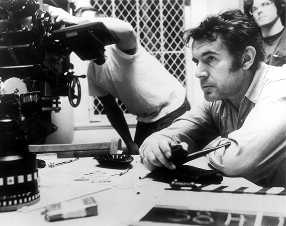 Milos Forman behind the scenes of One Flew Over the Cuckoo's Nest