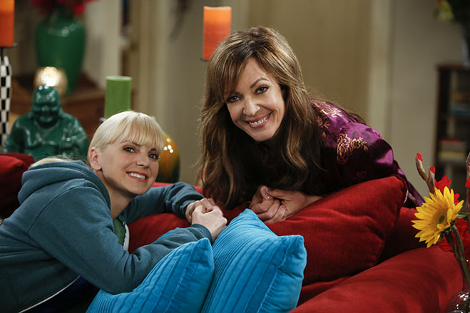 "Anna Farris and Allison Janney in ""Mom"""
