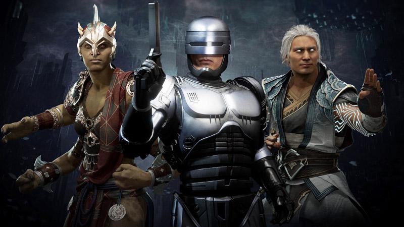 Mortal Kombat 11: Aftermath - Sheeva, Robocop, Fujin