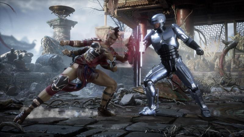 Mortal Kombat 11: Aftermath - Sheeva, Robocop