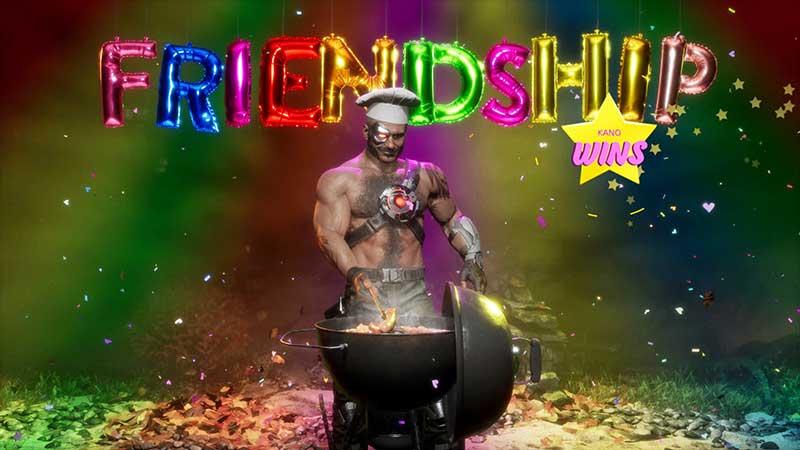 Mortal Kombat 11: Aftermath - Friendship - Kano