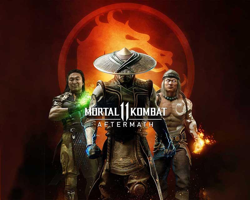 Mortal Kombat 11: Aftermath - Key Art