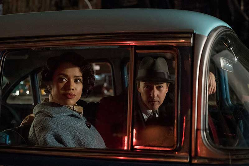 Motherless Brooklyn - Edward Norton, Gugu Mbatha-Raw