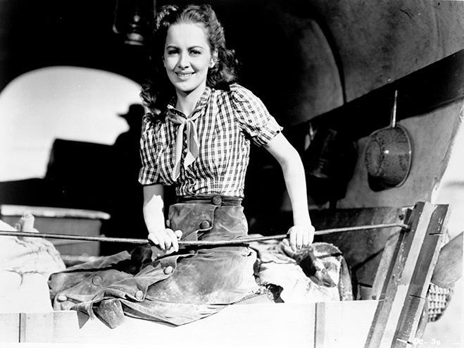 Olivia de Havilland - Dodge City
