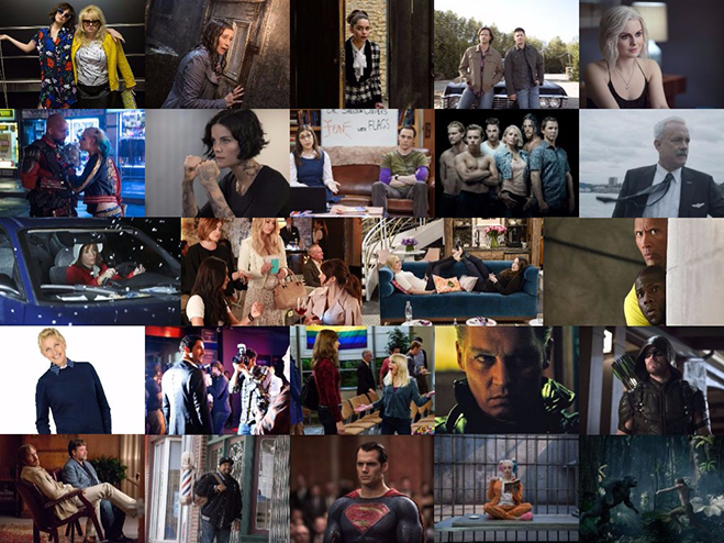 Collage of People's Choice nominees