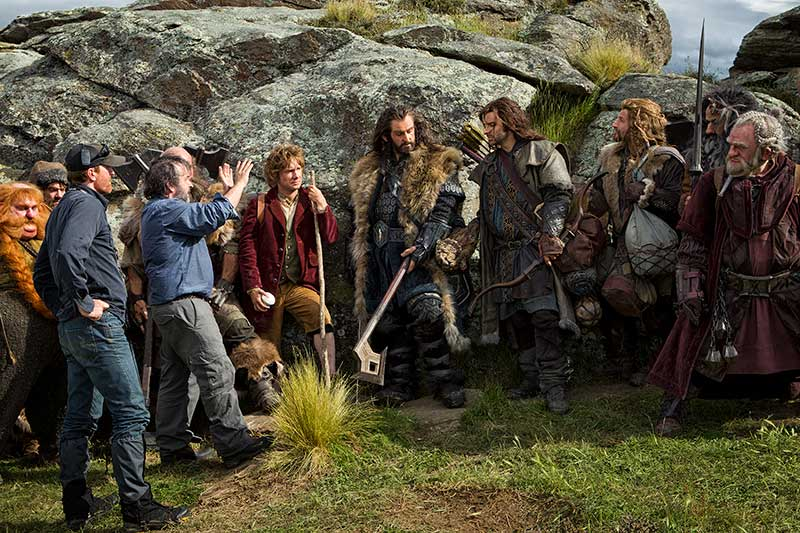 Peter Jackson Dwarves - The Hobbit Unexpected Journey