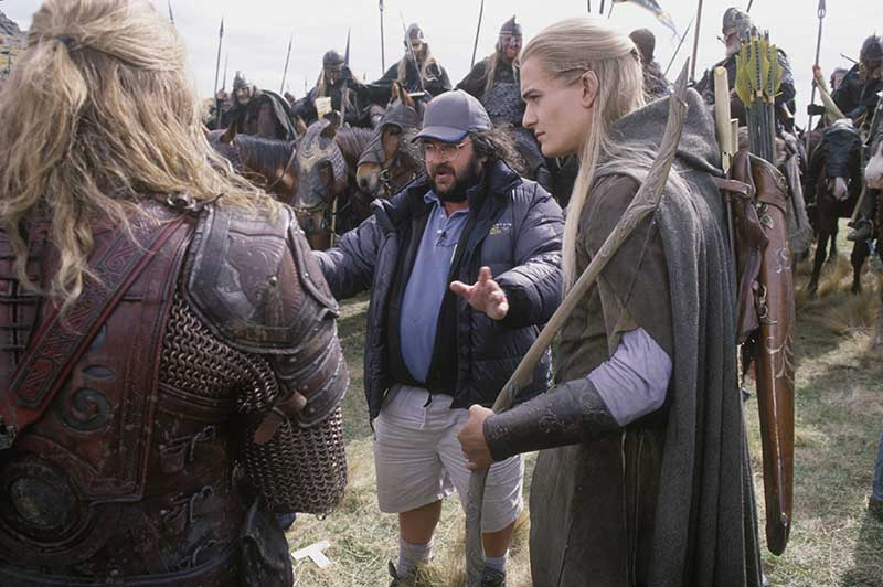 Peter Jackson Orlando Bloom - Two Towers