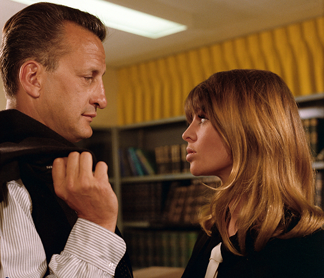 george c. scott and julie christie star in director richard lester's 1968 masterwork petulia, which arrives on DVD June 28.