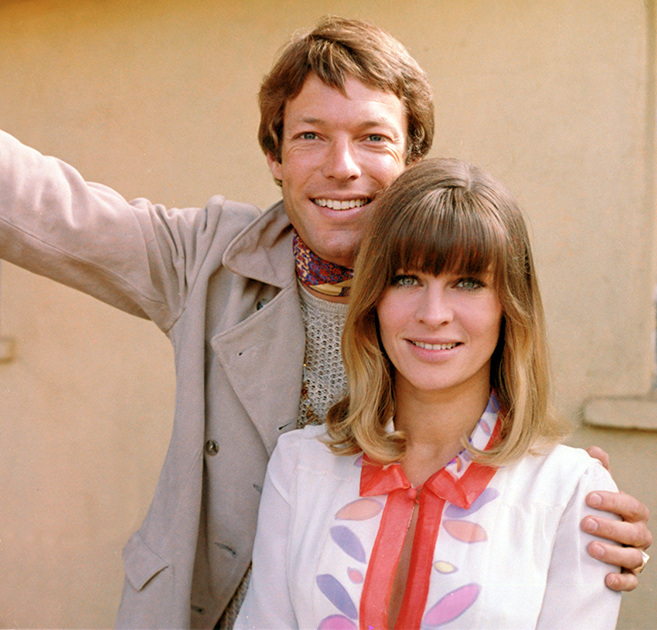 Richard Chamberlain and Julie Christie play a volatile young couple in Petulia.