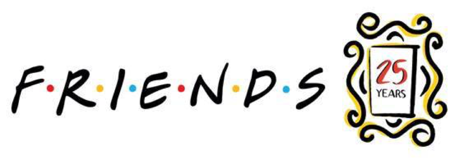Friends 25 Logo