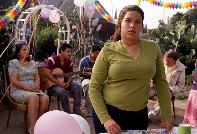 America Ferrera gave a Sundance Award winning performance as Ana Garcia who struggles with her mother over her desire to attend college instead of working in the family business.