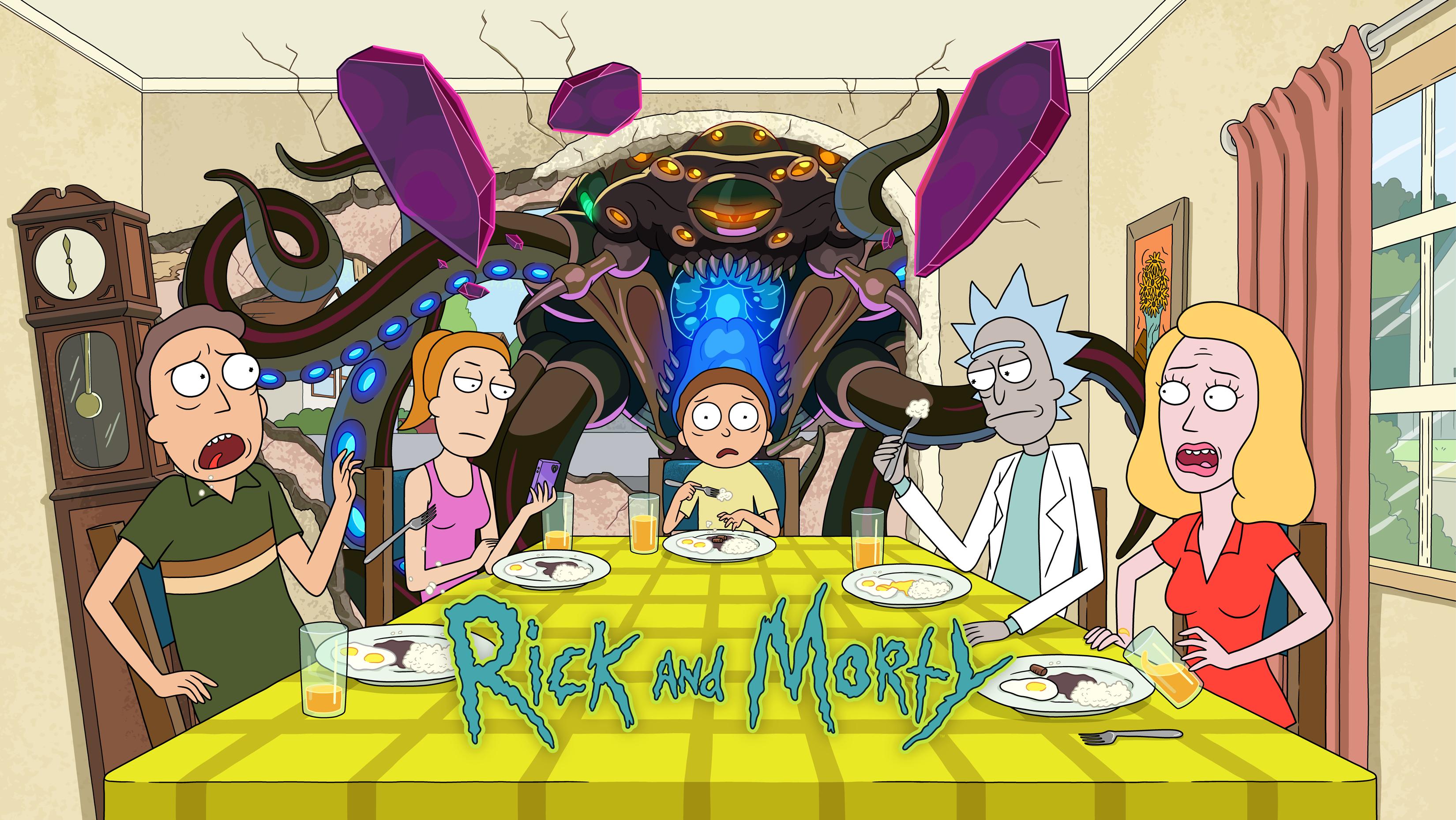 Rick and Morty - Season 5 Premiere - graphic image