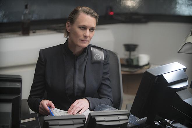 "Golden Globe winner Robin Wright as Lieutenant Joshi, who she describes as ""bad ass and fun to play."""