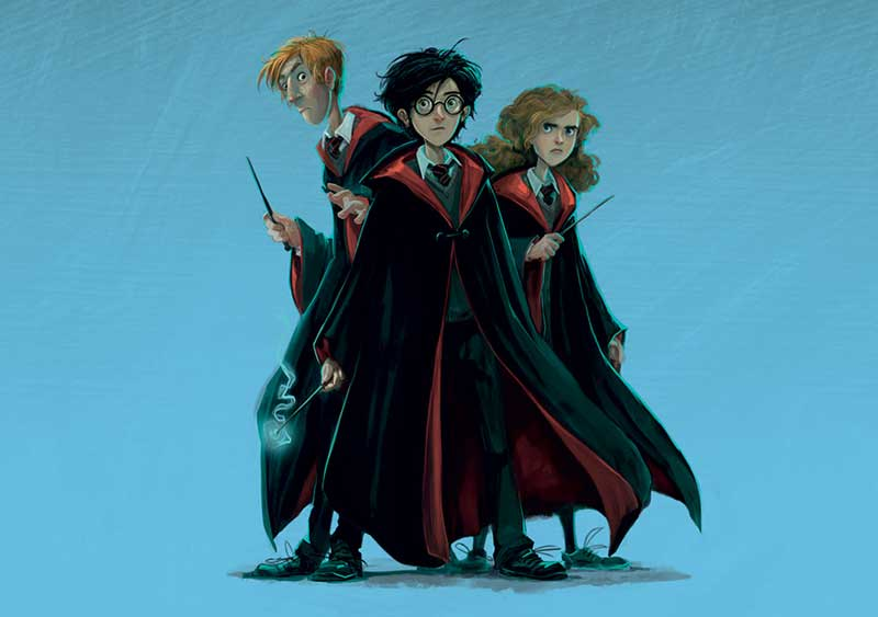 Harry Potter At Home: Ron, Harry, Hermione - Article