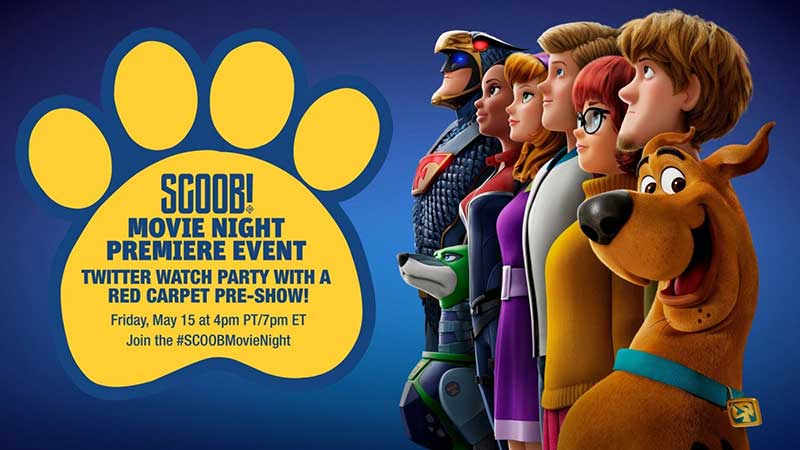 SCOOB! Movie Night Premiere Event - Twitter