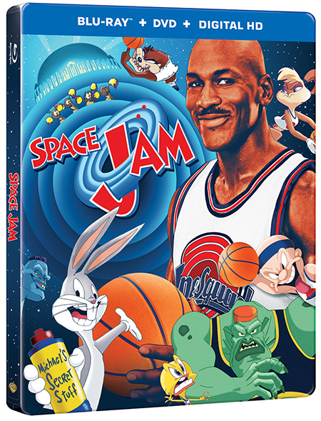 space jam 20th anniversary blu-ray steelbox
