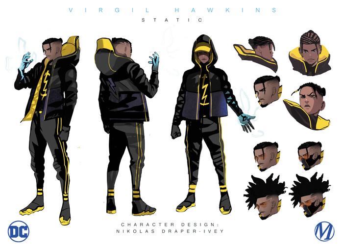 Static - Character Design