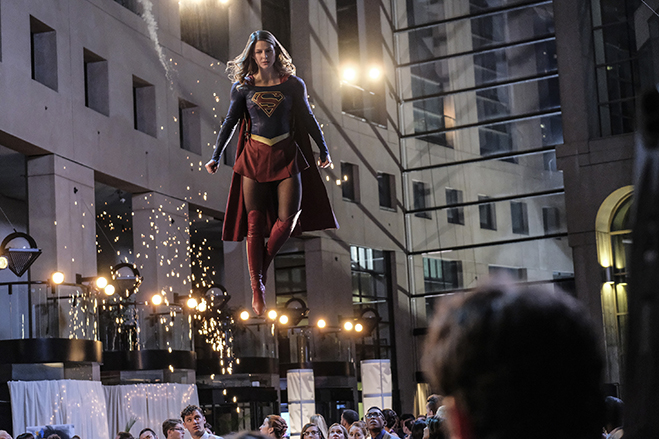 scene from supergirl