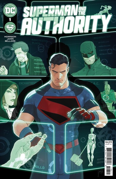 Superman and the Authority - graphic image