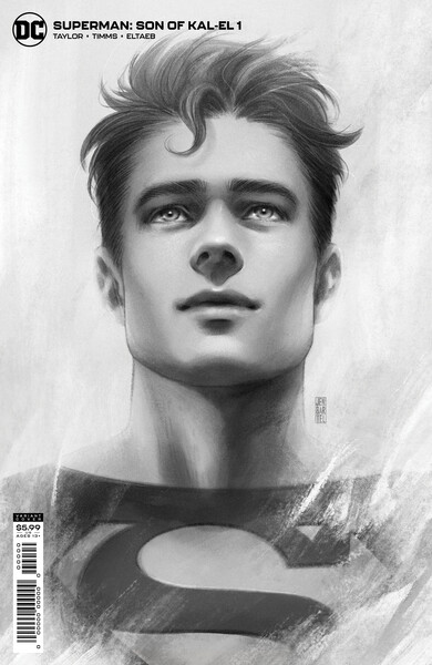 Superman Son of Kal El - variant - graphic image