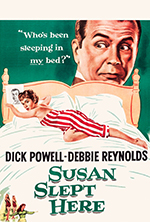 warner archive collection releases susan slept here on blu-ray