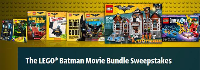 lego batman movie bundle sweepstakes