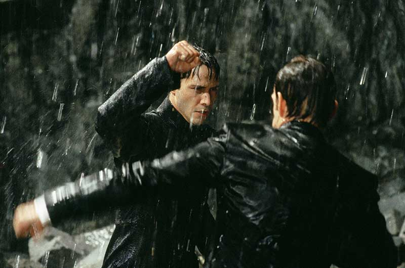The Matrix Fight -Keanu Reeves