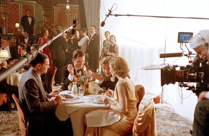The Aviator - Leonardo DiCaprio, Adam Scott, Jude Law, Cate Blanchett