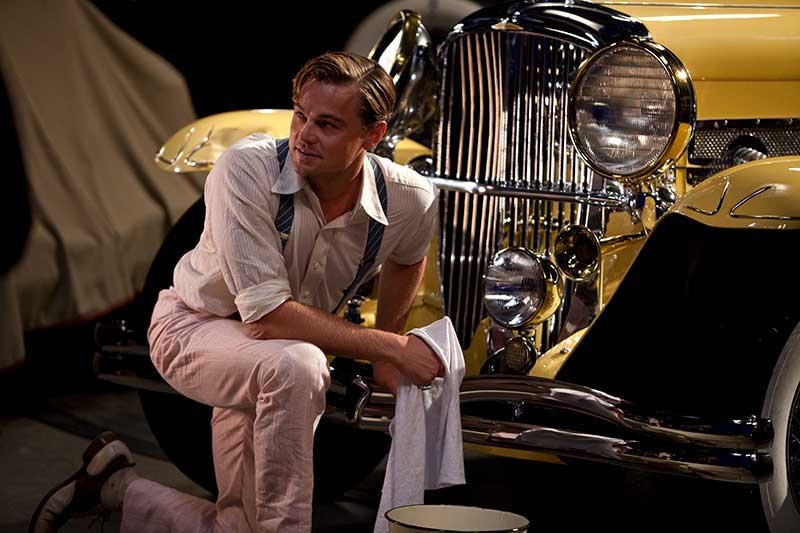 The Great Gatsby - Leonardo DiCaprio - Car