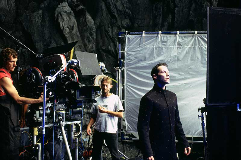 The Matrix BTS - Keanu Reeves