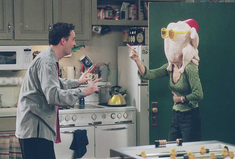 The One With All The Thanksgivings - Turkey