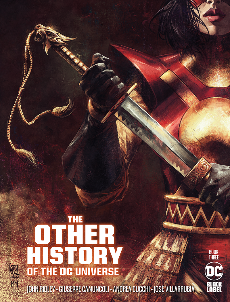 The Other History of the DC Universe #3 by John Ridley, Giuseppe Camuncoli, Andrea Cucchi, José Villarrubia and Steve Wands - Katana Cover