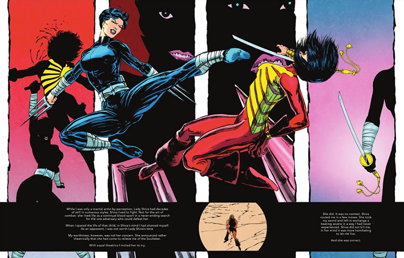 The Other History of the DC Universe #3 by John Ridley, Giuseppe Camuncoli, Andrea Cucchi, José Villarrubia and Steve Wands - Lady Shiva