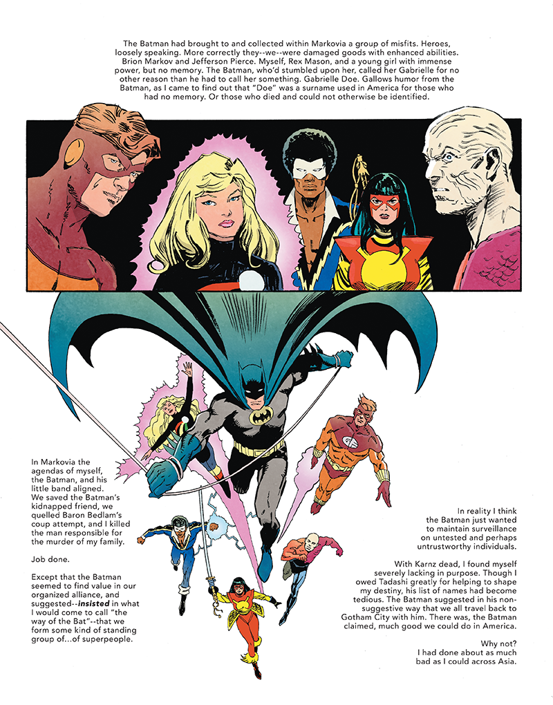 The Other History of the DC Universe #3 by John Ridley, Giuseppe Camuncoli, Andrea Cucchi, José Villarrubia and Steve Wands - Markovia