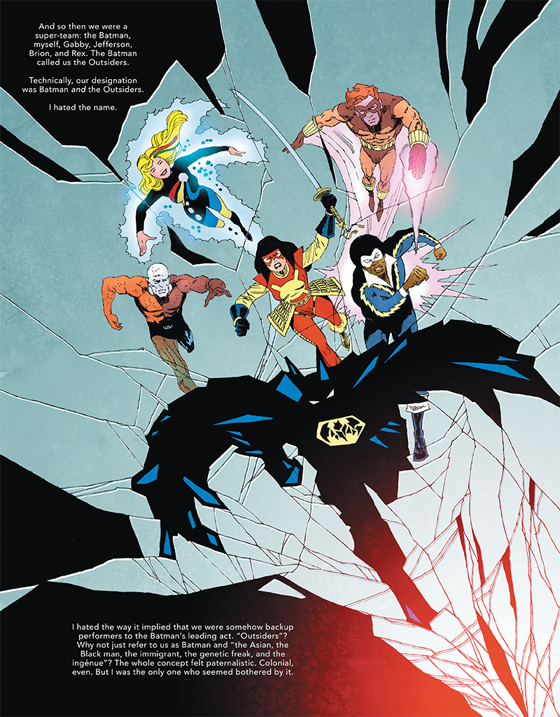 The Other History of the DC Universe #3 by John Ridley, Giuseppe Camuncoli, Andrea Cucchi, José Villarrubia and Steve Wands - The Outsiders