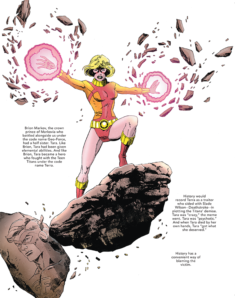 The Other History of the DC Universe #3 by John Ridley, Giuseppe Camuncoli, Andrea Cucchi, José Villarrubia and Steve Wands - Terra