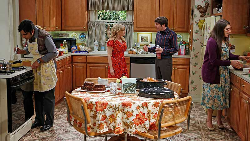 The Thanksgiving Decoupling - The Big Bang Theory, Kitchen