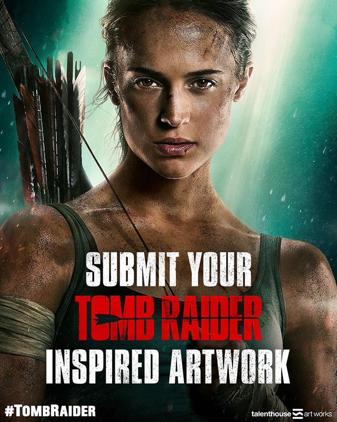 tomb raider artwork contest image