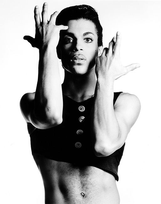 Publicity shot of Prince as Christopher Tracy